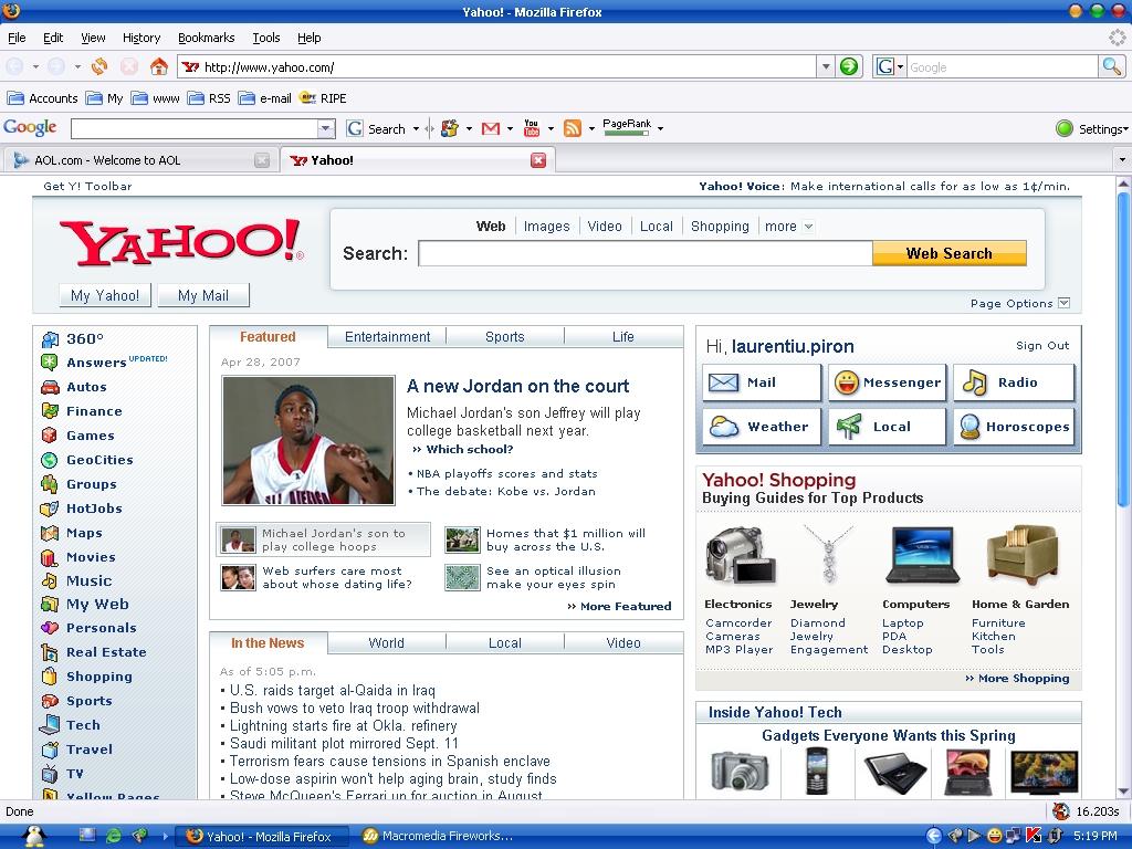 Yahoo com0